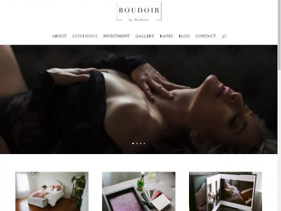 Boudoir by Natalie website image