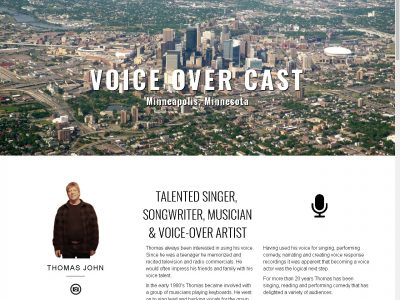 Voice Over Cast website image